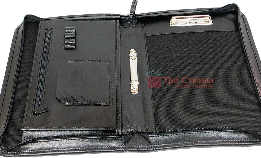 Папка-портфель для документів A-art 36TARK Чорна, фото 6