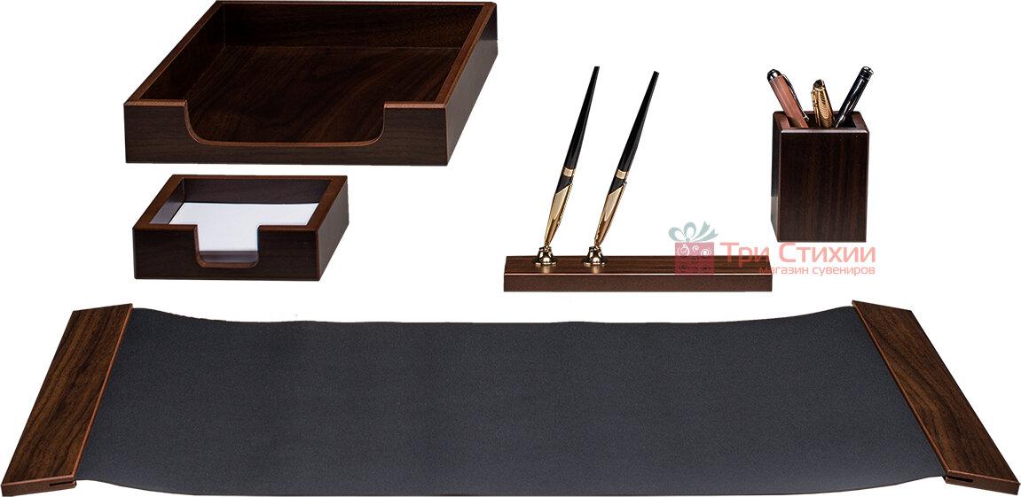 Набір настільний Bestar 5 предметів Горіх 5105 FDX, Колір: Горіх, фото