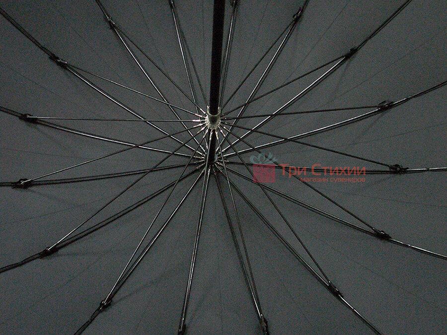 Зонт-трость Bugatti 71763BU001 механический Черный, фото 4