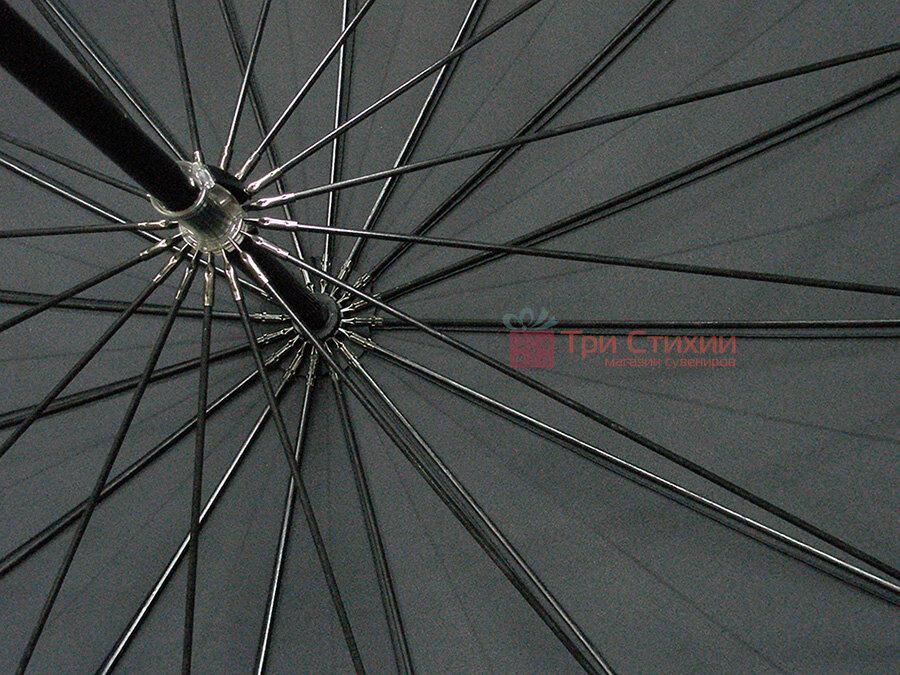 Зонт-трость Bugatti 71763BU001 механический Черный, фото 5
