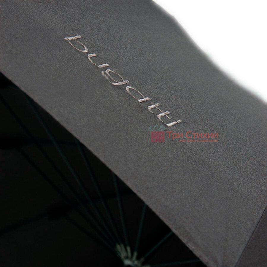 Зонт-трость Bugatti 71763BU001 механический Черный, фото 9