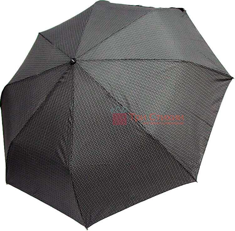 Зонт складной Doppler Carbon 730167-7 полуавтомат Серые ромбы, фото