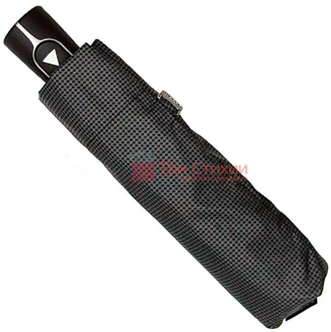Зонт складной Doppler Carbon 730167-8 полуавтомат Серые точки, фото 2