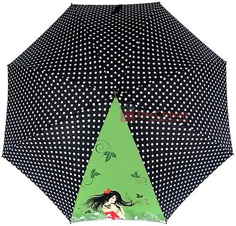 Зонт-трость Doppler Romance 740865R полуавтомат Зеленый, фото 2