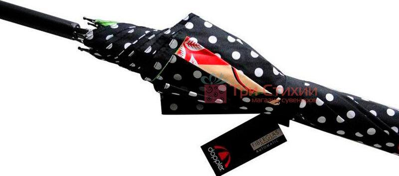 Зонт-трость Doppler Romance 740865R полуавтомат Зеленый, фото 3