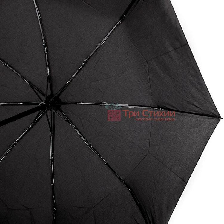 Зонт складной Doppler 7441467-4 автомат Чёрный, фото 3