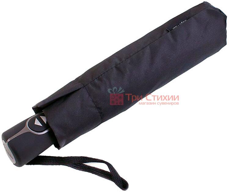 Зонт складной Doppler 7441467-4 автомат Чёрный, фото 4