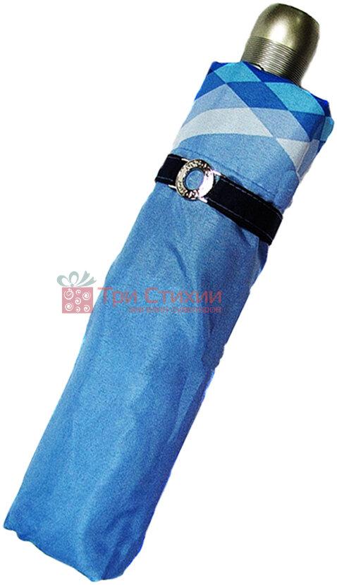 Парасолька складана Doppler 74665GFGCO-2 повний автомат Синя, Колір: Синій, фото 2