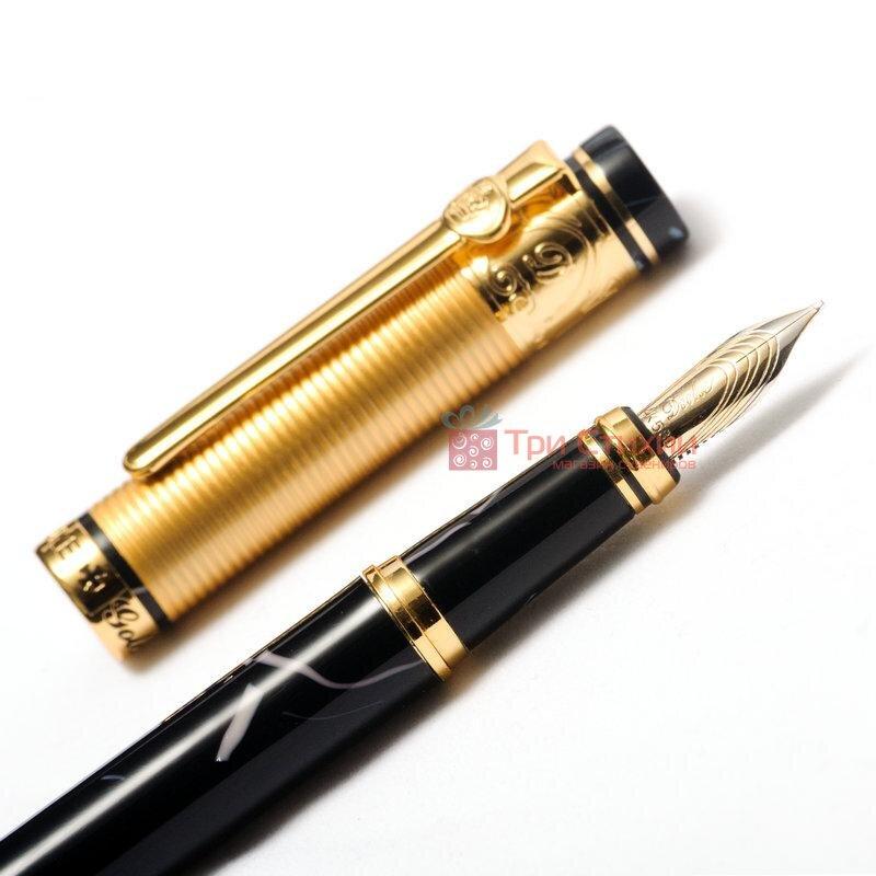 "Ручка перьевая DUKE ""ЗОЛОТАЯ МЕДАЛЬ"" BLACK 14К (M-GM14K-BL), фото 4"