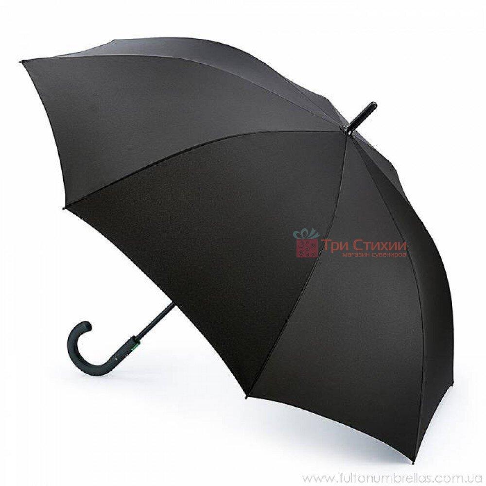 Зонт-трость Fulton Typhoon-1 G844 - Black (Черный), фото