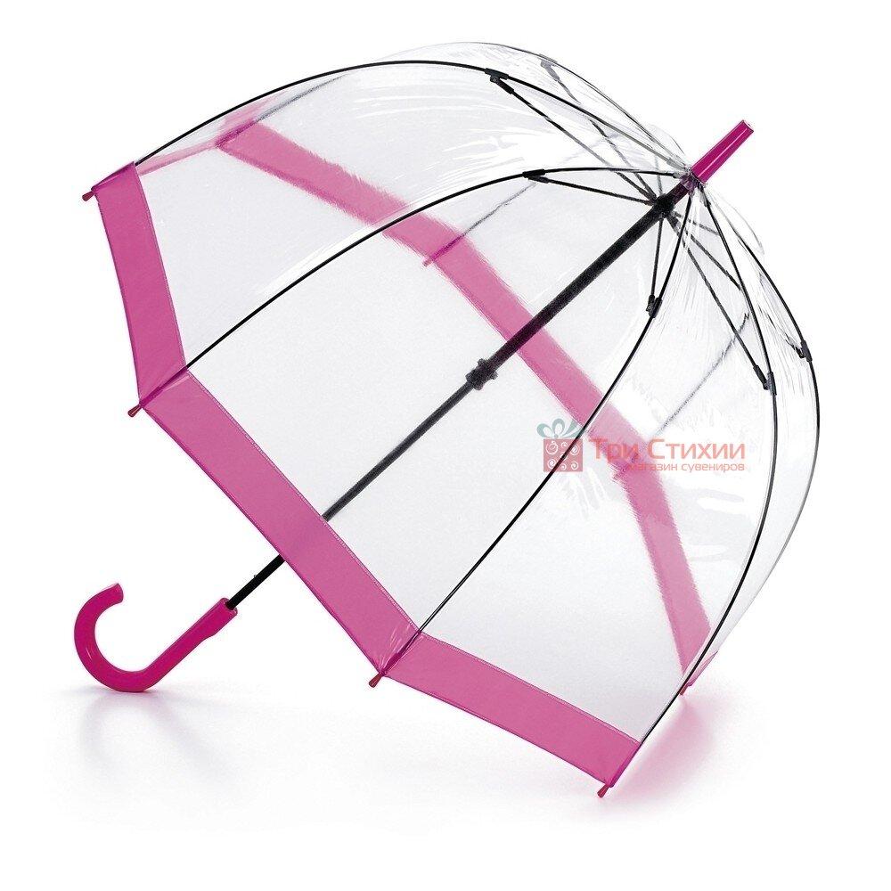 Парасолька-тростина жіноча Fulton Birdcage-1 L041 Pink (Рожевий), фото