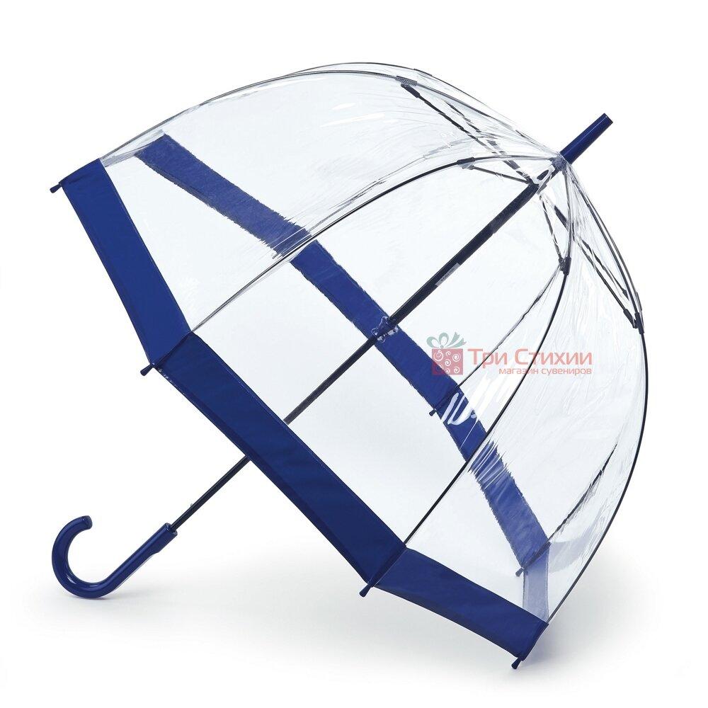 Зонт-трость женский Fulton Birdcage-1 L041 Navy (Синий), фото