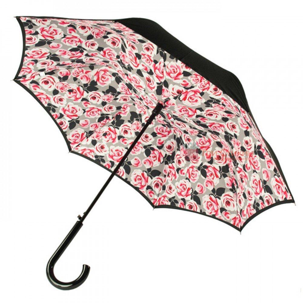 Зонт женский Fulton Bloomsbury-2 L754 Painted Roses (Рисованные розы), фото