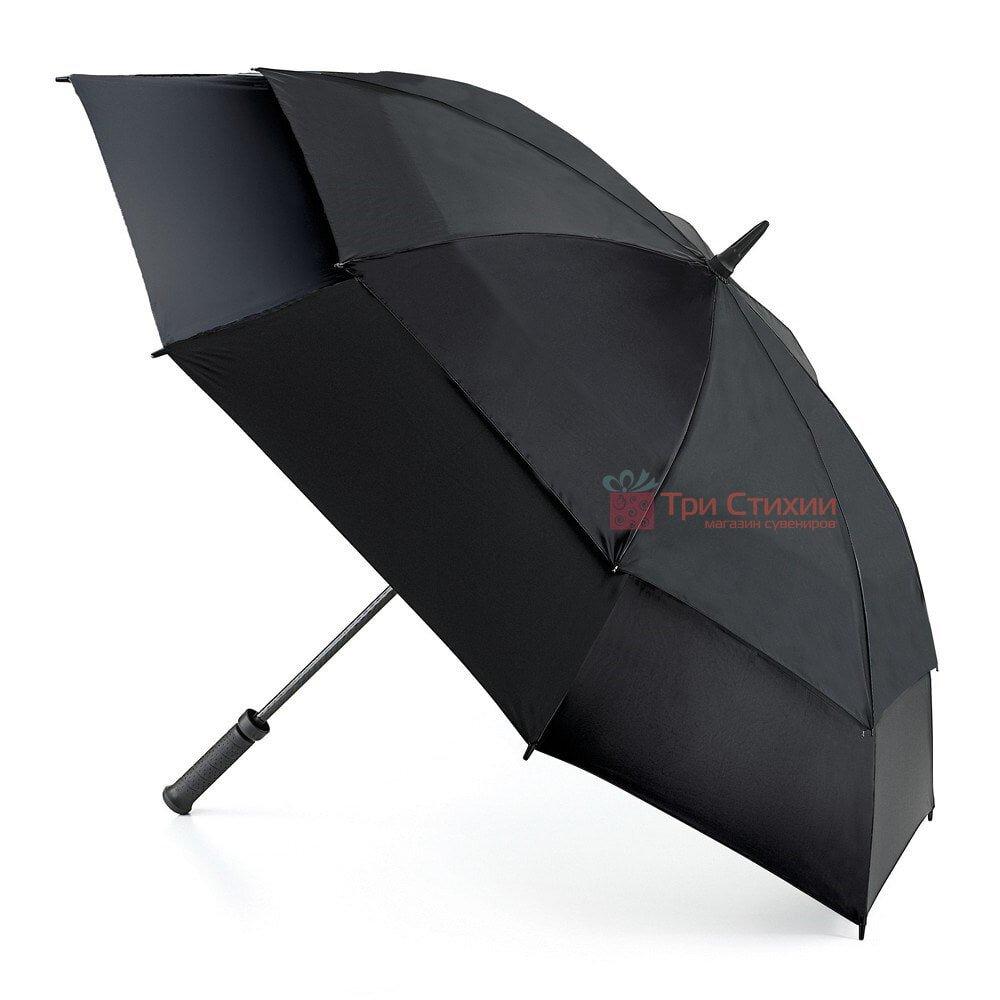 Зонт-гольфер Fulton Stormshield S669 Black механический Черный (S669-005576), Цвет: Черный, фото