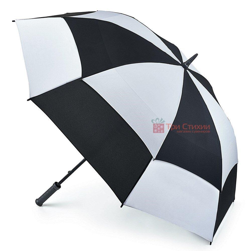 Парасоля-гольфер Fulton Stormshield S669 Black White (Черно-Біла), фото