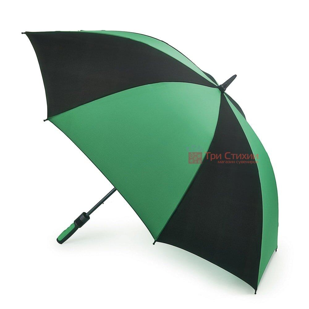 Зонт-гольфер Fulton Cyclone S837 Black Green (Черный/зеленый), фото