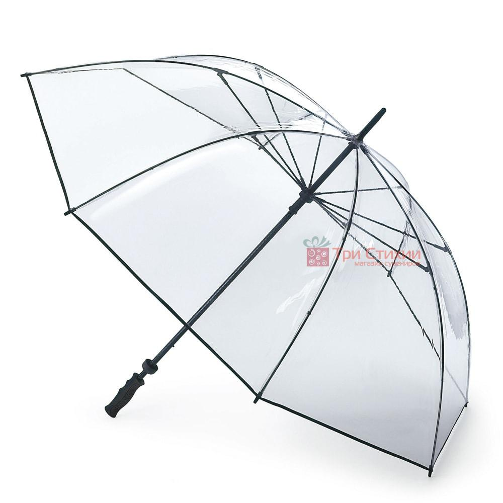 Зонт-гольфер Fulton Clearview S841 Clear (Прозрачный), фото