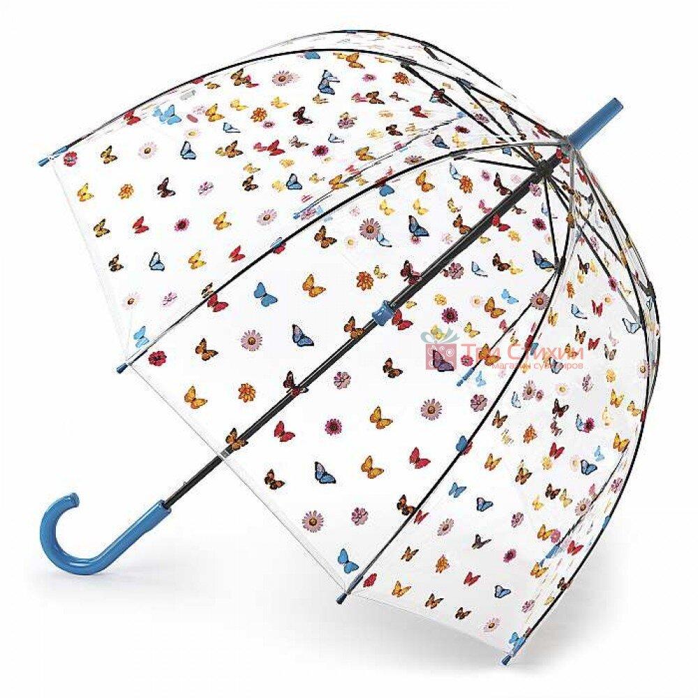 Зонт-трость женский Fulton Birdcage-2 L042 English Garden (Английский сад), фото