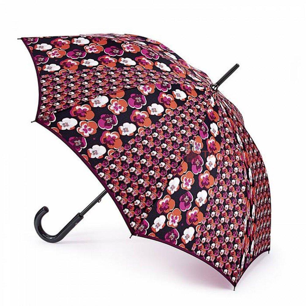 Зонт-трость женский Fulton Kensington-2 L056 Contrast Retro (Контрастное ретро), фото