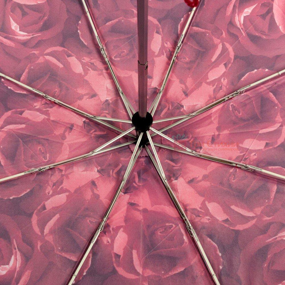 Парасолька жіноча Fulton Open & Close-4 L346 Photo Rose Red (Червоні троянди), фото 3