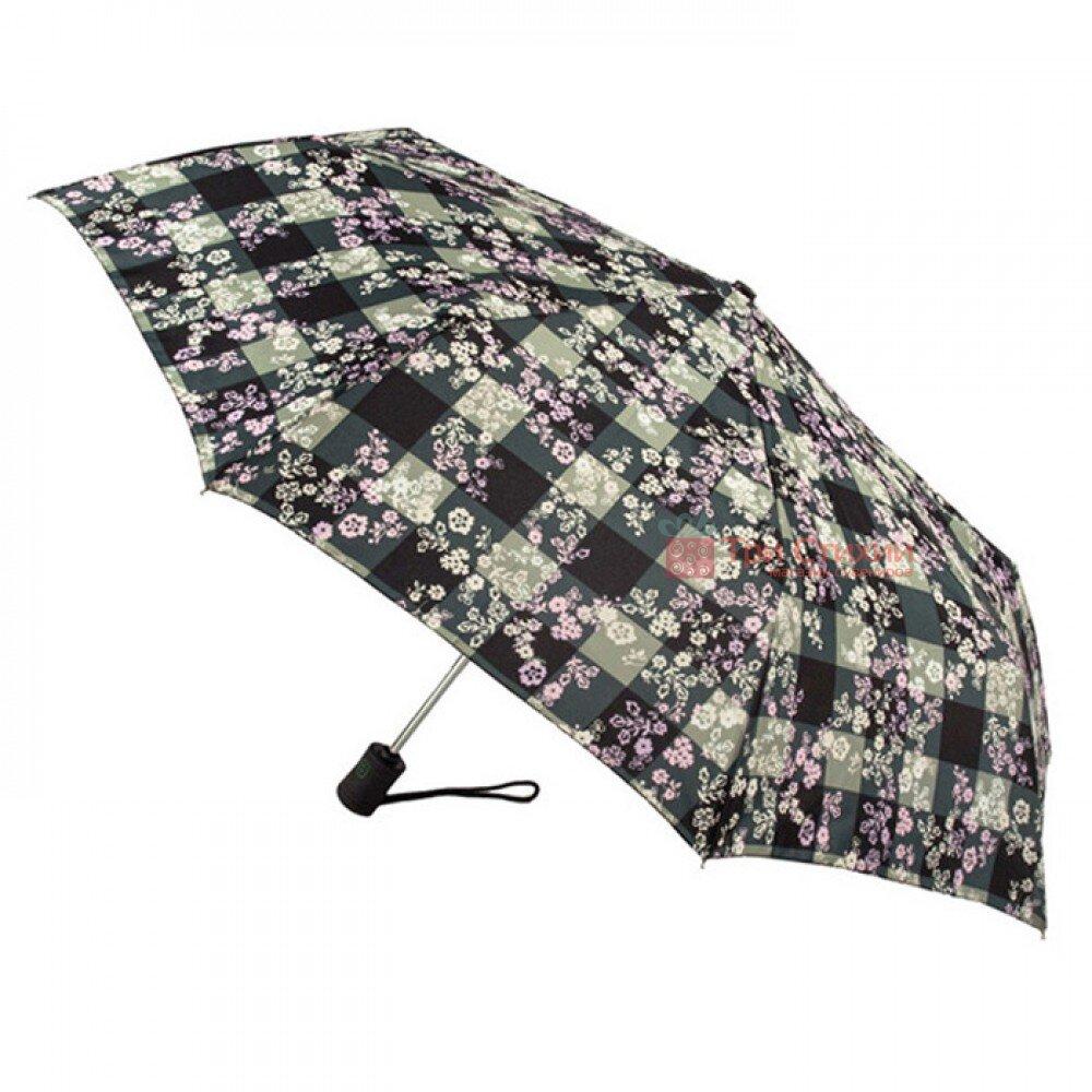 Зонт женский Fulton Open & Close-4 L346 Gingham Ditsy (Цветы), фото