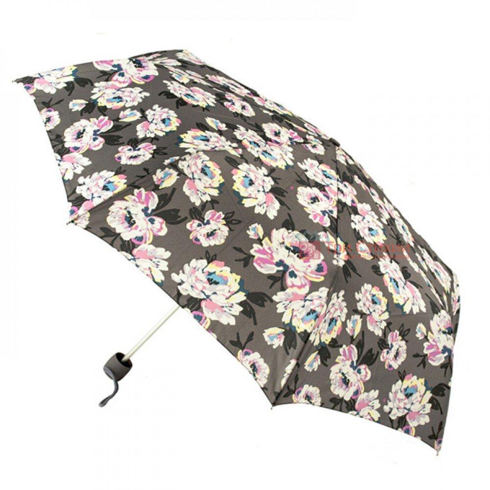 Зонт женский Fulton Minilite-2 L354 Painted Peonies (Рисованные Пионы), фото