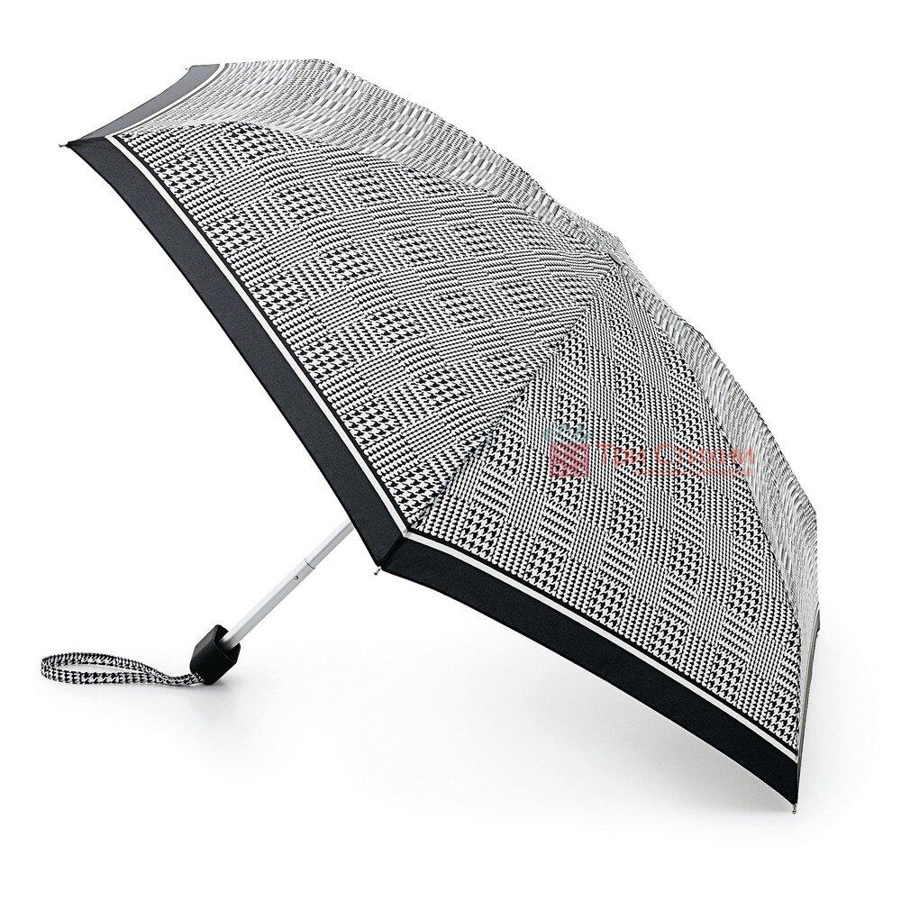 Зонт женский Fulton Tiny-2 L501 Classics- Prince Of Wales Check (Гусиные лапки), фото