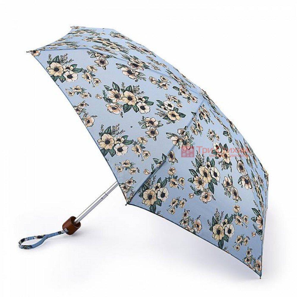 Зонт женский Fulton Tiny-2 L501 Vintage Bouquet (Винтажный букет), фото