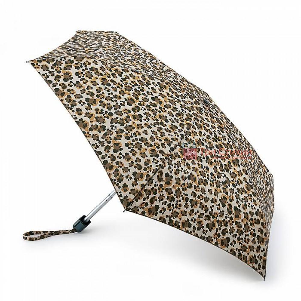 Зонт женский Fulton Tiny-2 L501 Wild Cat (Дикая кошка), фото
