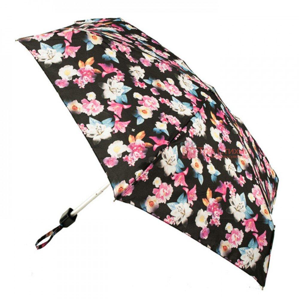 Зонт женский Fulton Tiny-2 L501 Shadow Lily (Лилия), фото