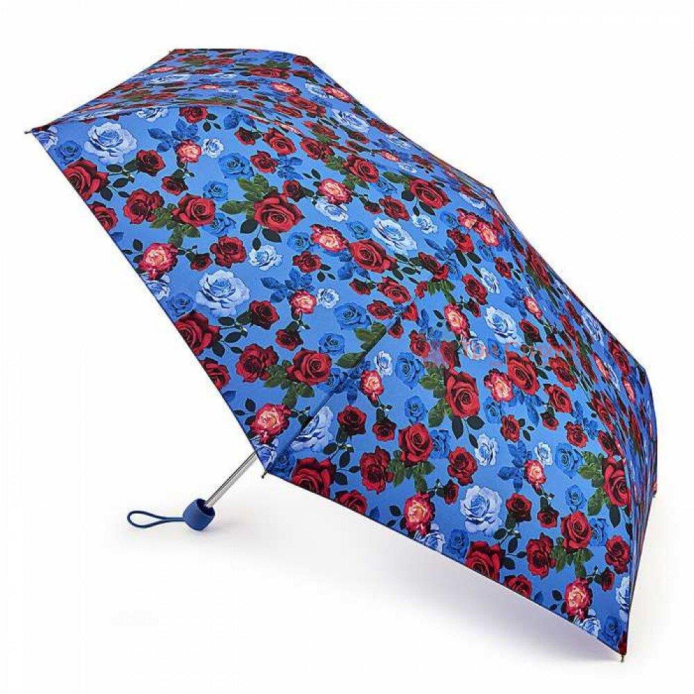 Зонт женский Fulton Superslim-2 L553 English Rose (Английская роза), фото