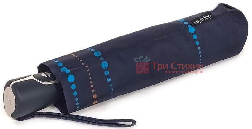 Парасолька складана Doppler 730165S01 напівавтомат Синя, Колір: Синій, фото 2