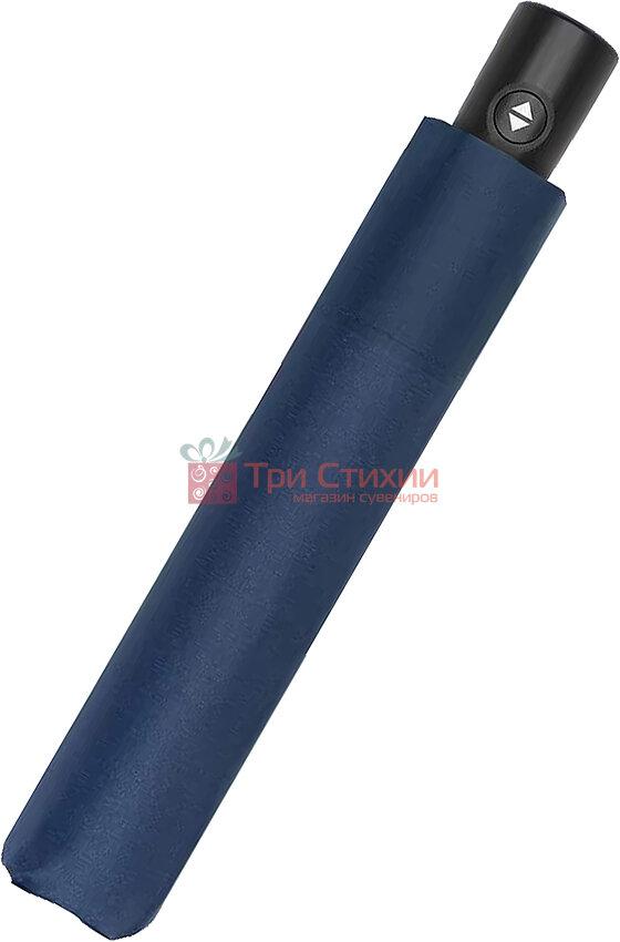 Парасолька складана Doppler ZERO повний автомат 744563DMA Темно-синя, Колір: Шоколадний, фото 2