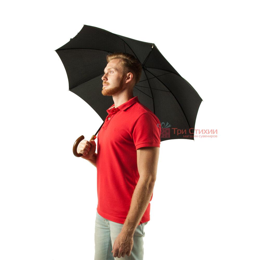 Зонт-трость Fulton Consul G808 Черный, фото 4