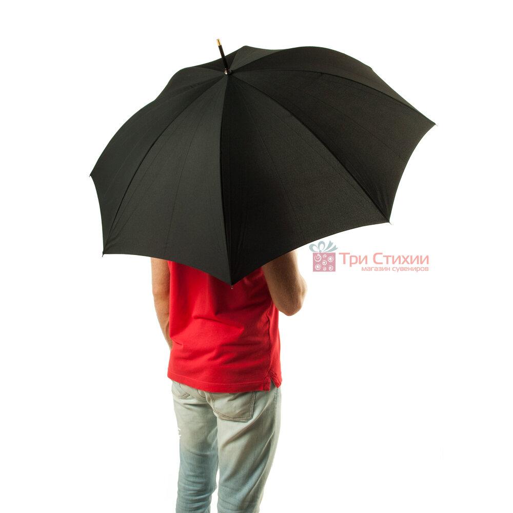 Зонт-трость Fulton Consul G808 Черный, фото 3