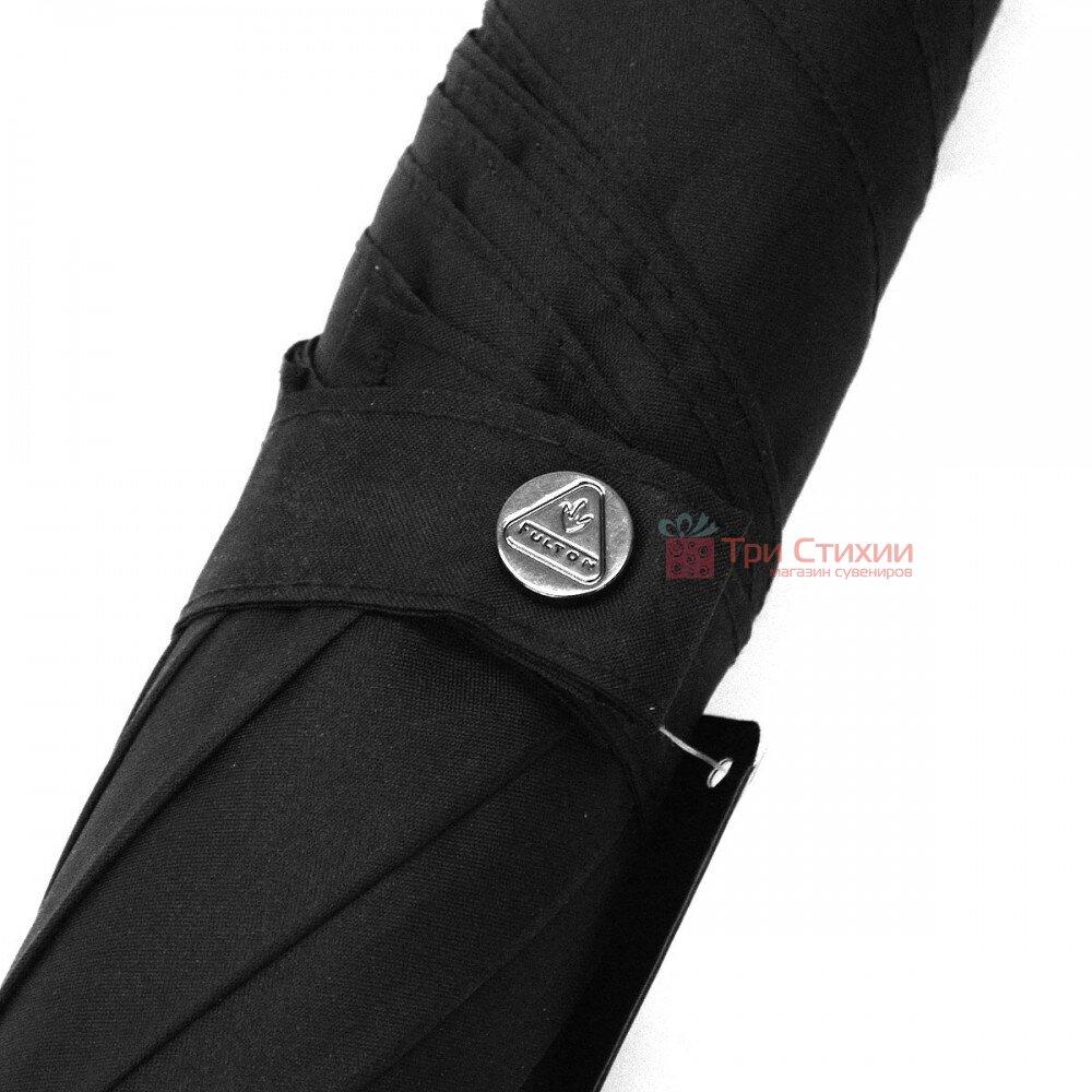Парасоля-тростина Fulton Huntsman-1 G813 Чорна, фото 2