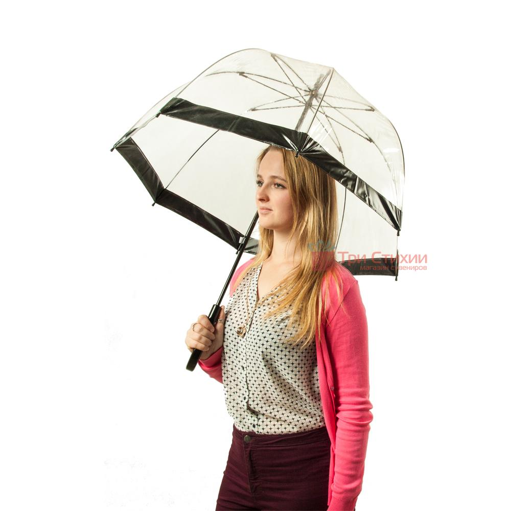 Зонт-трость женский Fulton Birdcage-1 L041 Black (Черный), фото 3