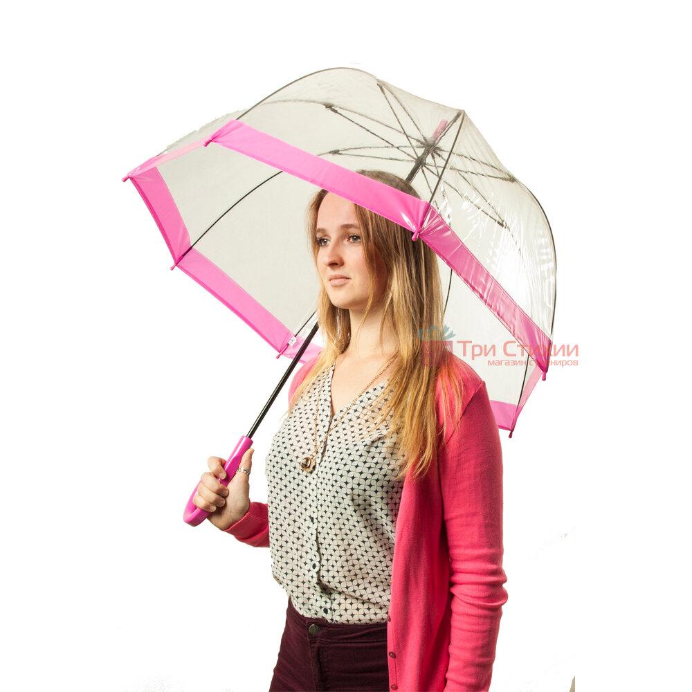 Парасолька-тростина жіноча Fulton Birdcage-1 L041 Pink (Рожевий), фото 3
