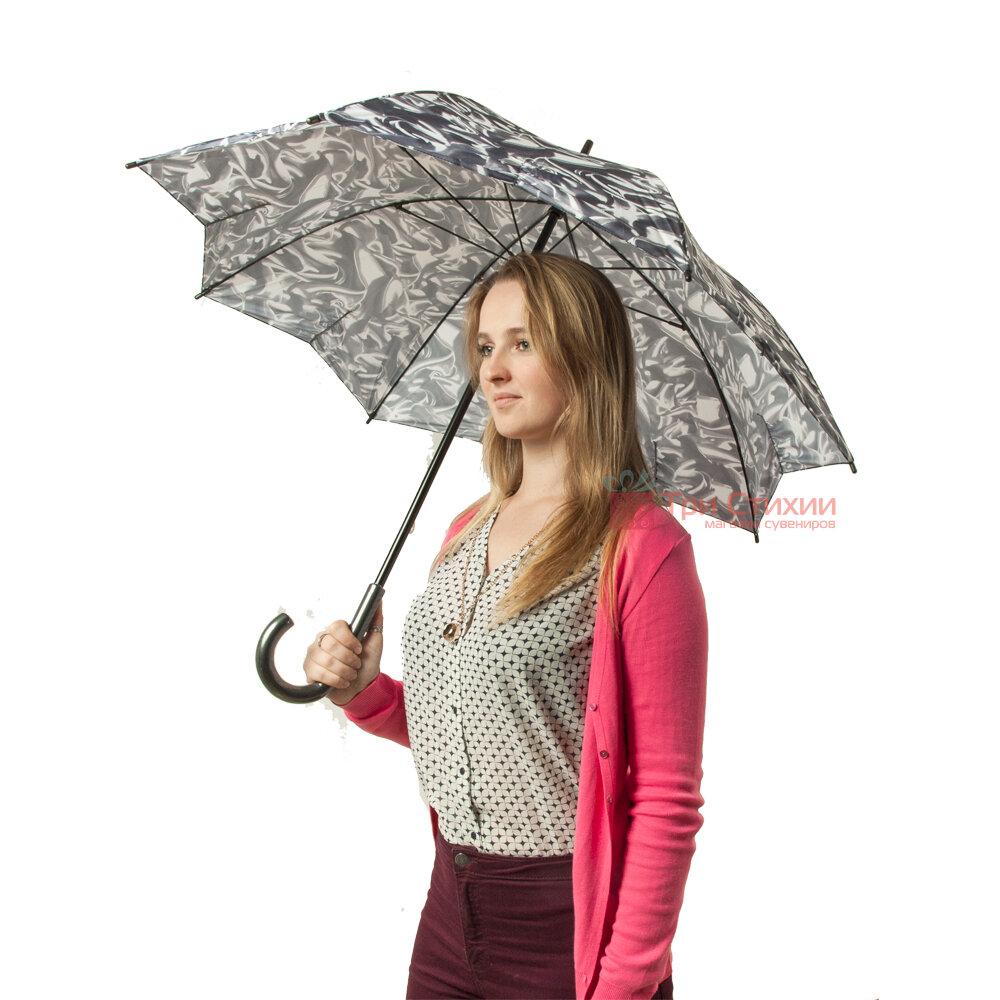 Парасолька-тростина жіноча Fulton Kensington-2 L056 Satin Dream (Мрії), фото 7