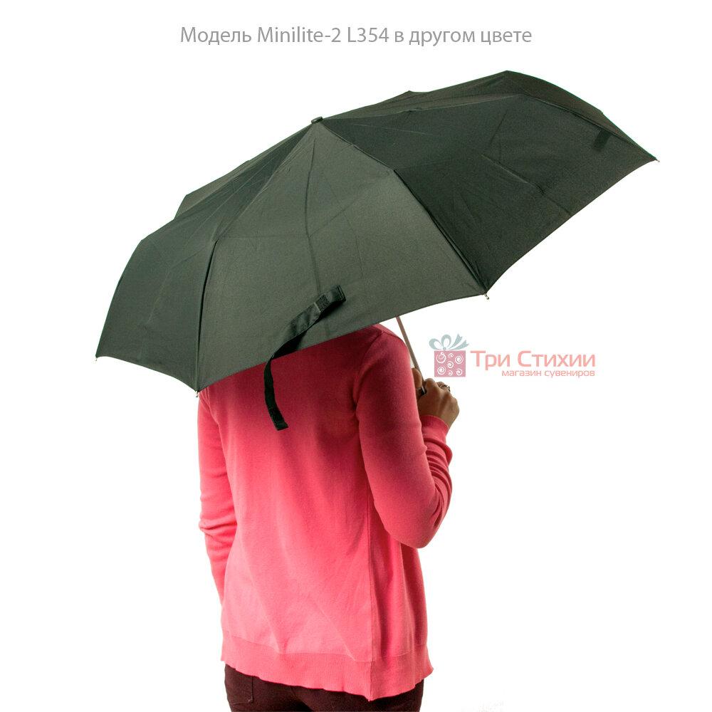 Зонт женский Fulton Minilite-2 L354 Painted Peonies (Рисованные Пионы), фото 7