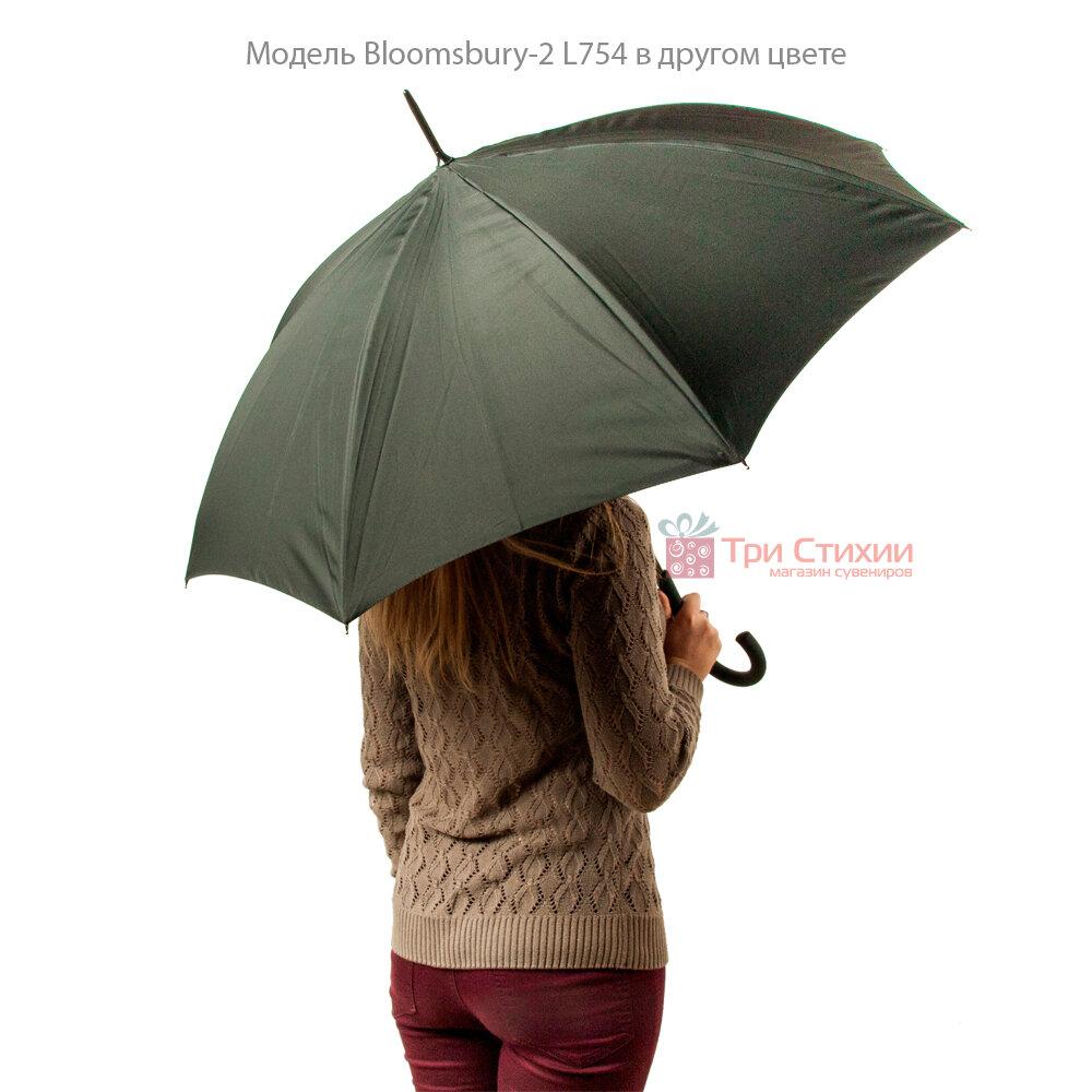 Зонт женский Fulton Bloomsbury-2 L754 Mono Bouquet (Черно-белый букет), фото 9