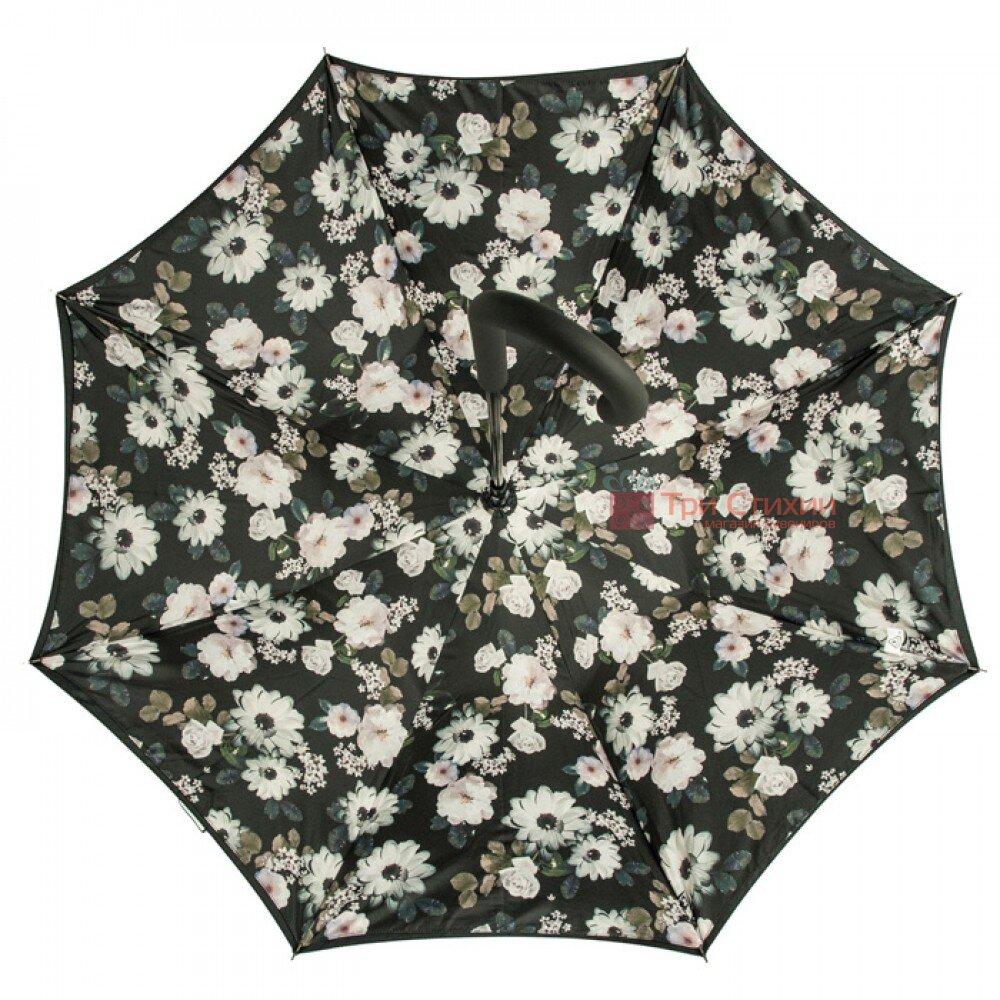 Зонт женский Fulton Bloomsbury-2 L754 Mono Bouquet (Черно-белый букет), фото 4