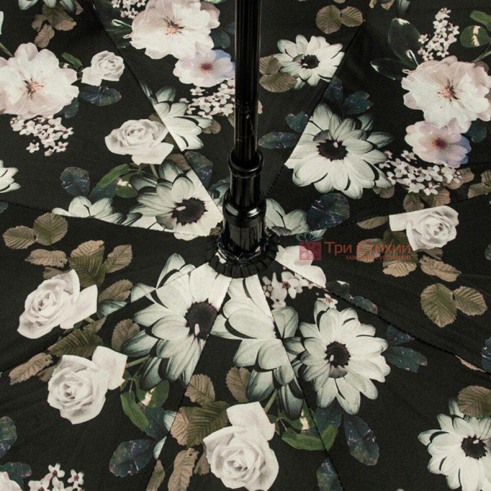 Зонт женский Fulton Bloomsbury-2 L754 Mono Bouquet (Черно-белый букет), фото 7