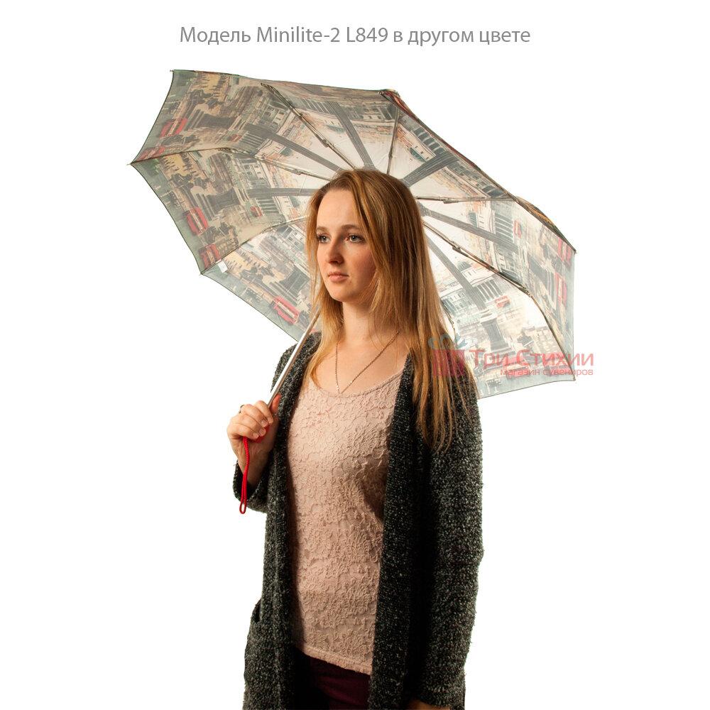 Зонт женский Fulton National Gallery Minilite-2 L849 The Umbrellas (Зонты), фото 6