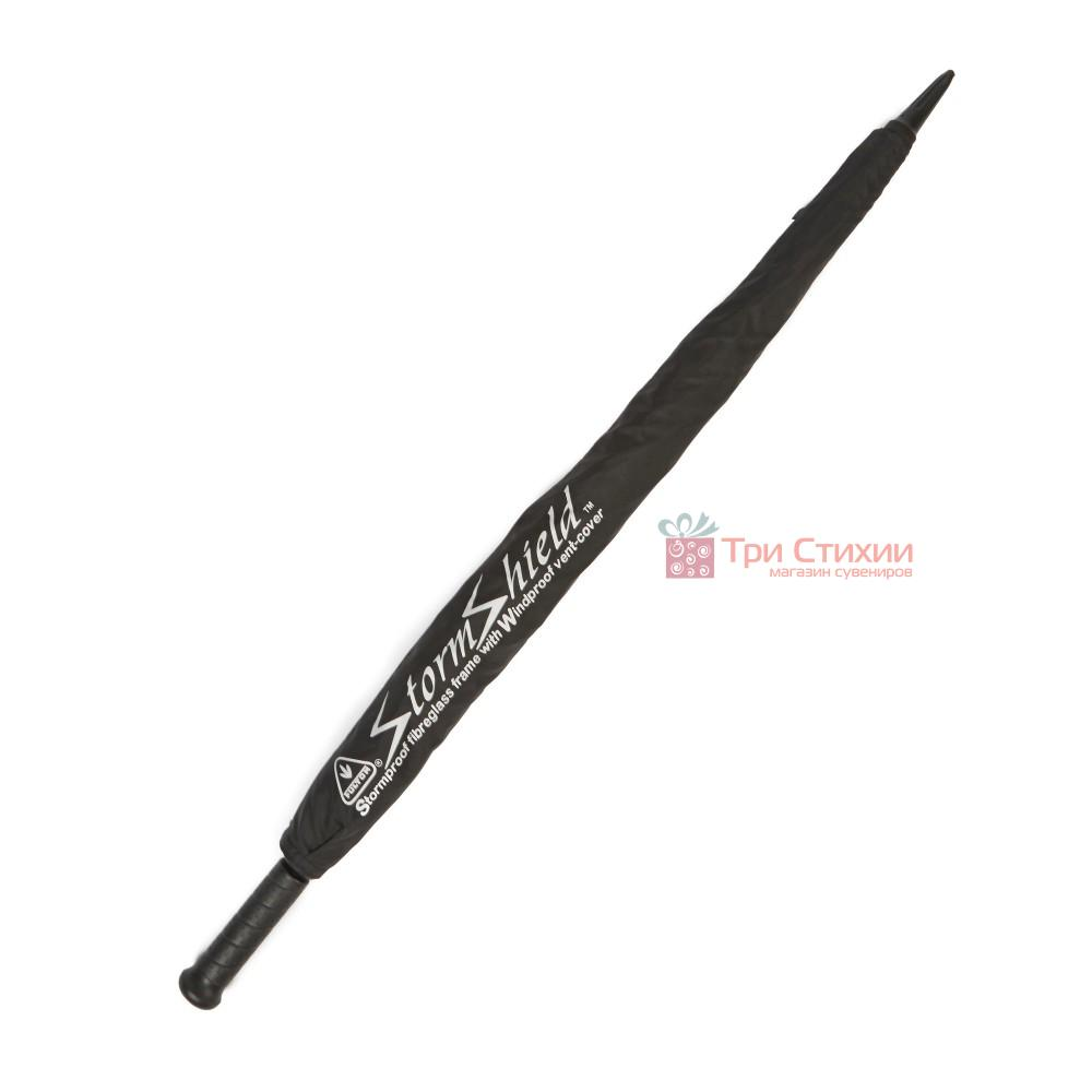 Зонт-гольфер Fulton Cyclone S837 Black (Черный), фото 4