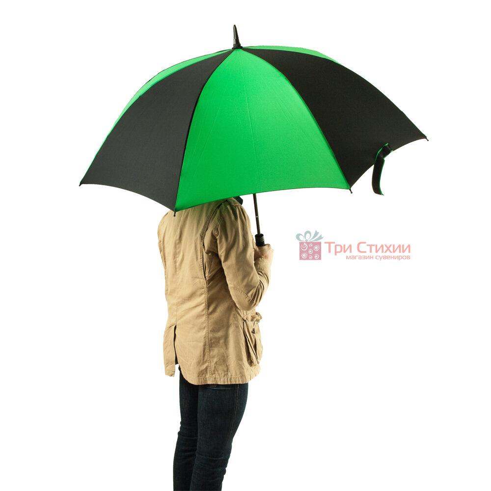 Зонт-гольфер Fulton Cyclone S837 Black Green (Черный/зеленый), фото 6
