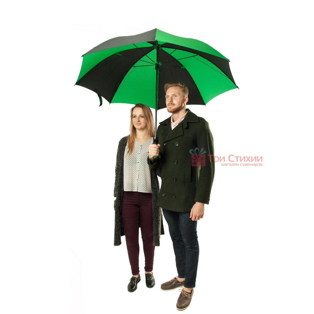 Зонт-гольфер Fulton Cyclone S837 Black Green (Черный/зеленый), фото 5