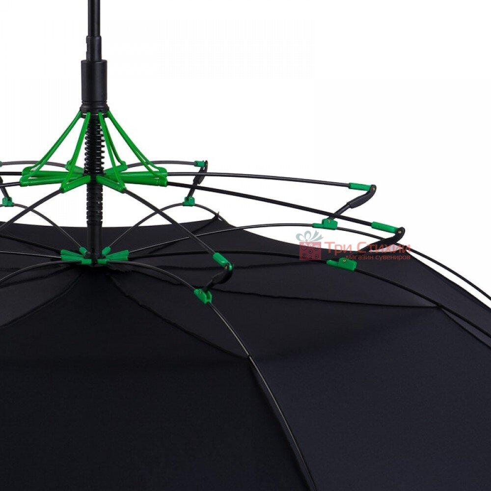 Зонт-трость Fulton Typhoon-1 G844 - Black (Черный), фото 2