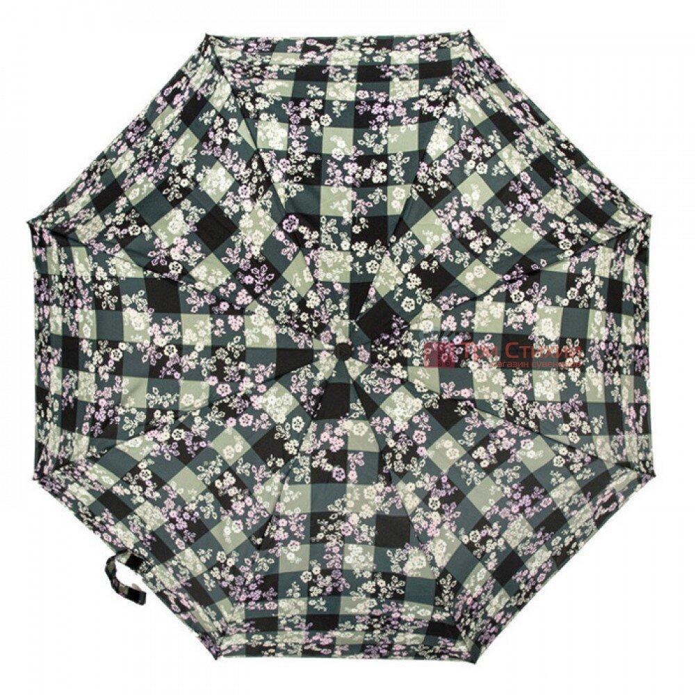 Зонт женский Fulton Open & Close-4 L346 Gingham Ditsy (Цветы), фото 4