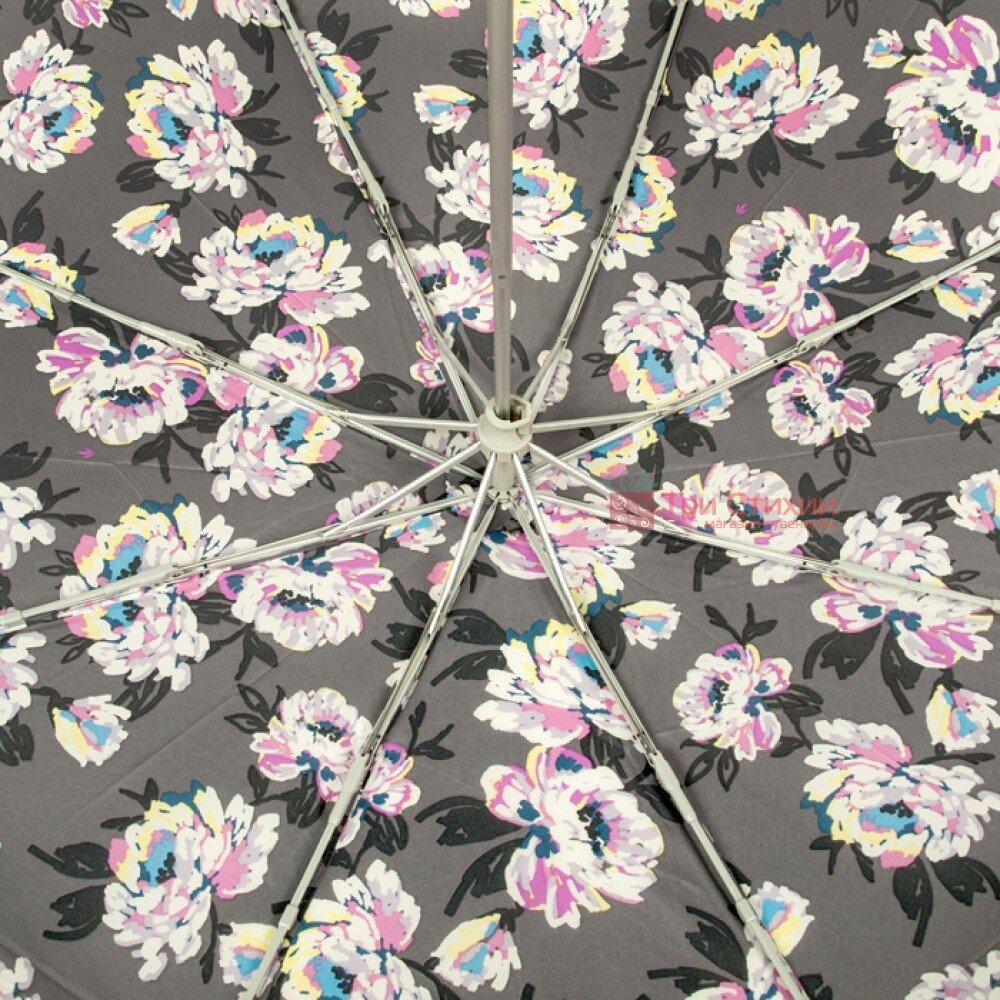 Зонт женский Fulton Minilite-2 L354 Painted Peonies (Рисованные Пионы), фото 5